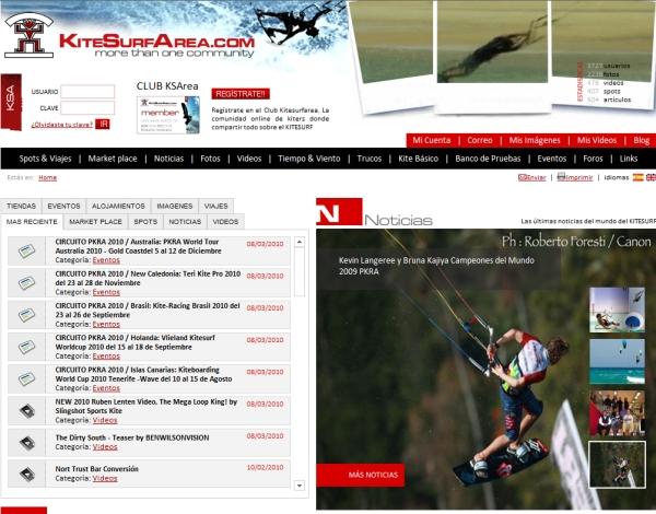www.kitesurfarea.com