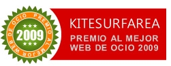 Premio al mejor web de ocio 2009