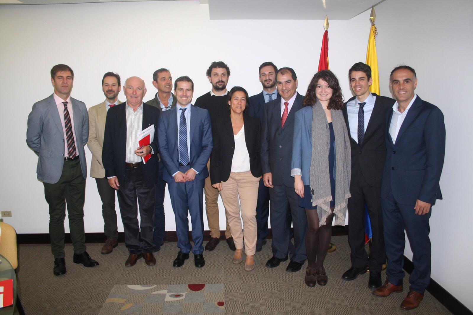 Representantes de empresas cántabras en la misión comercial a Perú y Colombia